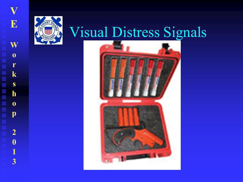 VEWorkshop2013VEWorkshop2013 Visual Distress Signals