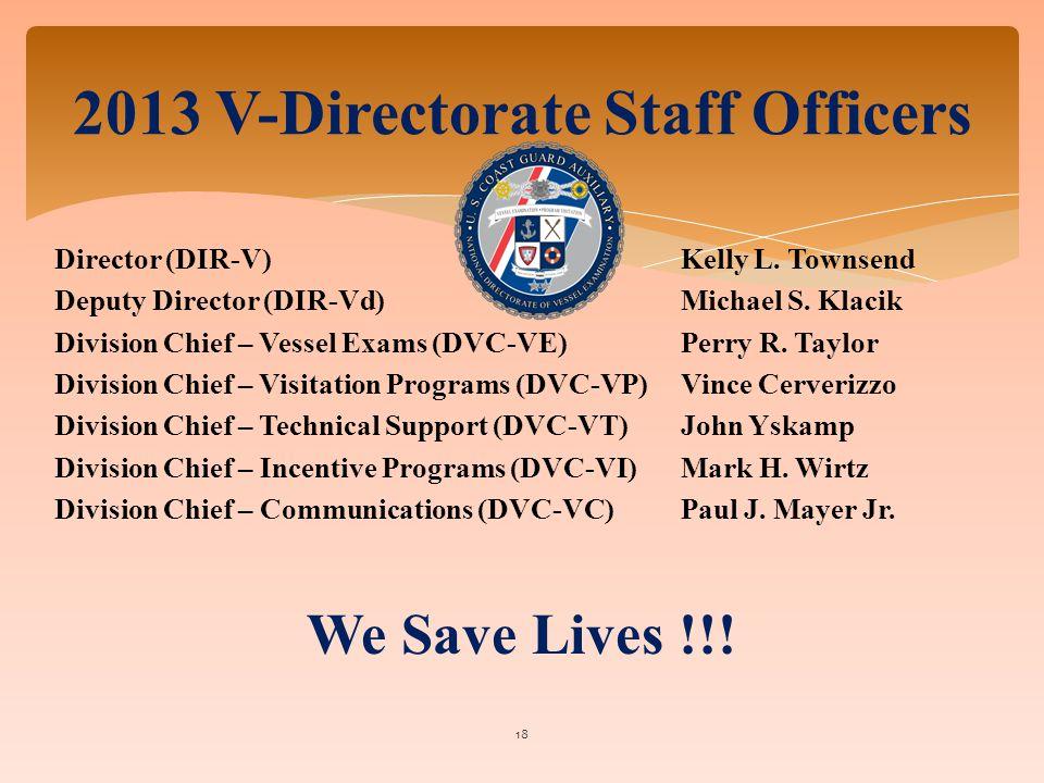Director (DIR-V) Kelly L. Townsend Deputy Director (DIR-Vd)Michael S.