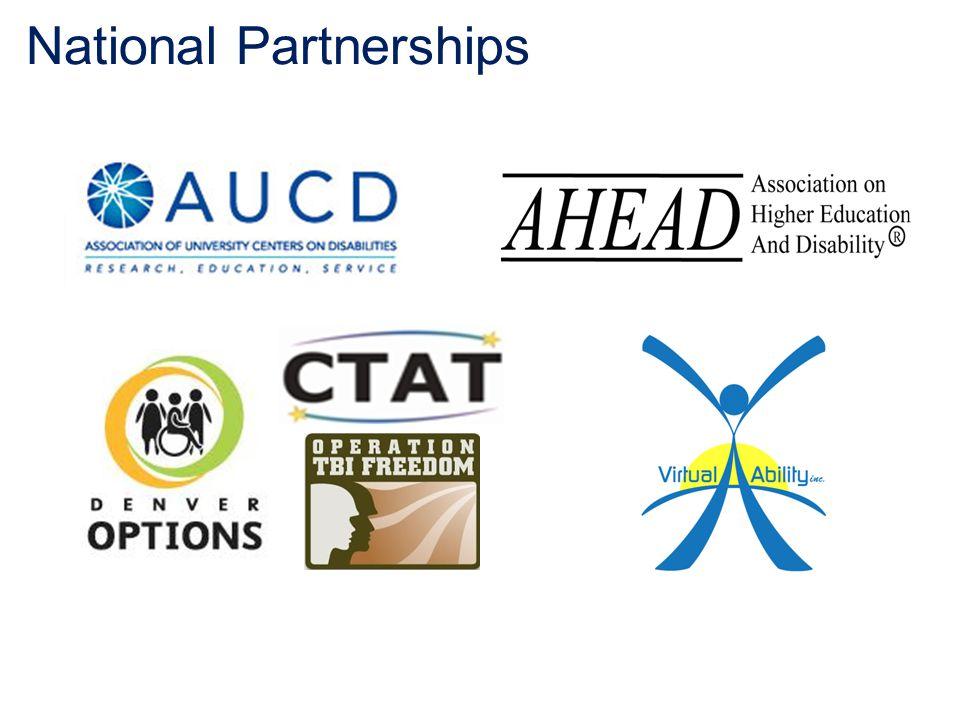 National Partnerships