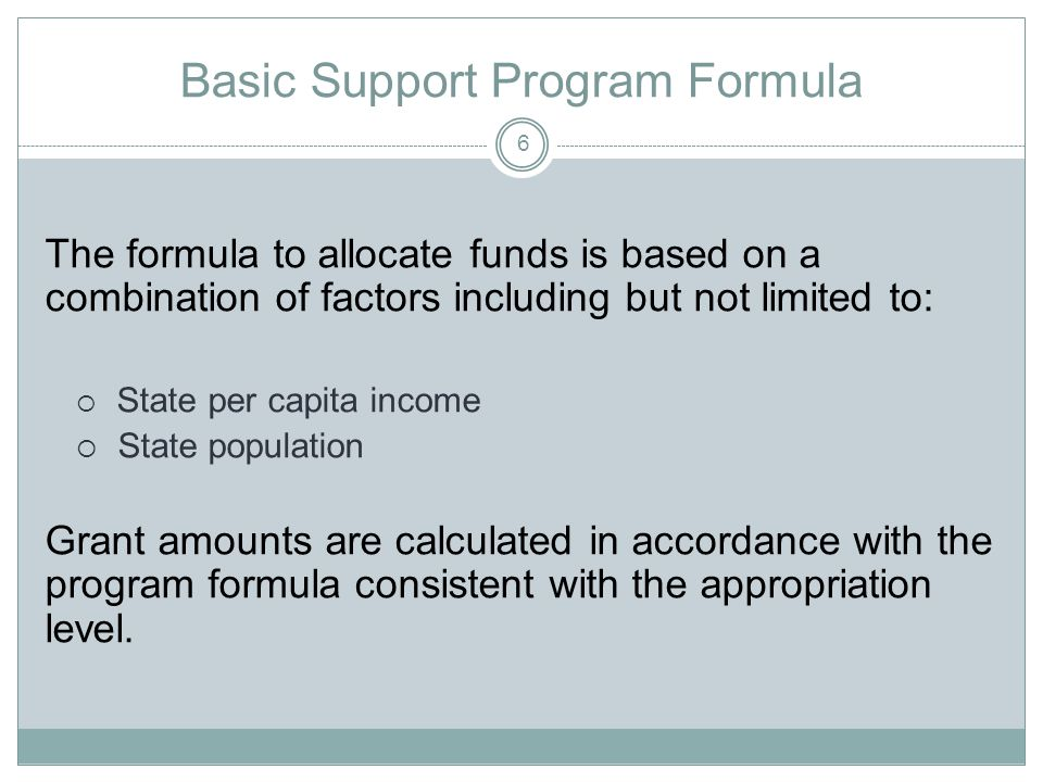 Federal Program Income … income received by the State that is directly generated by an activity supported under the grant.
