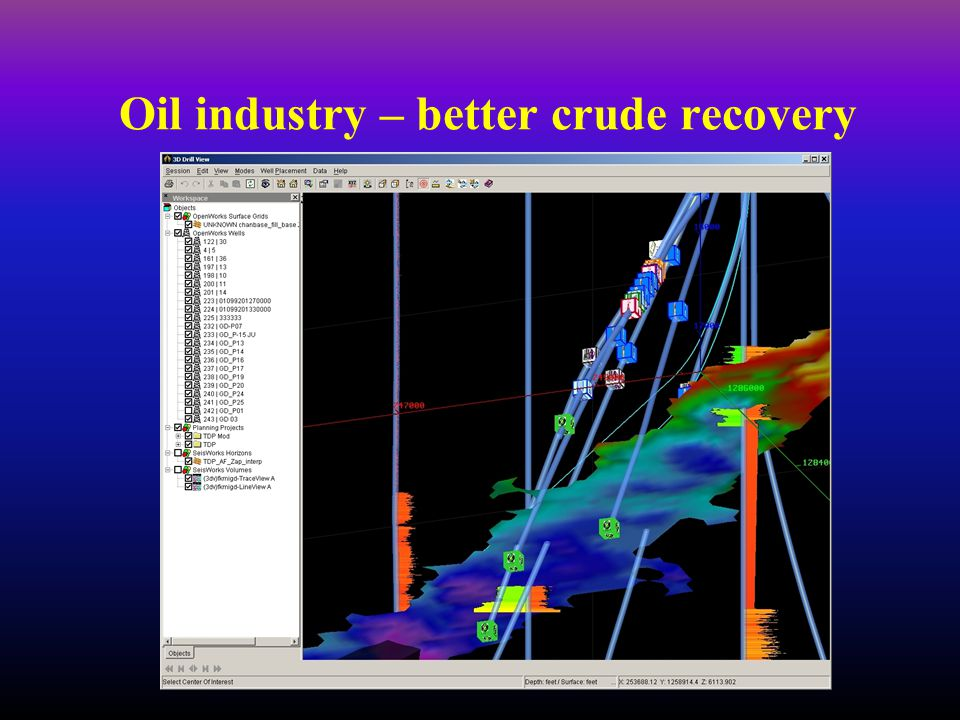 Oil industry – better crude recovery
