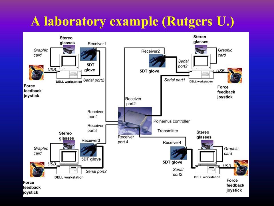 A laboratory example (Rutgers U.)
