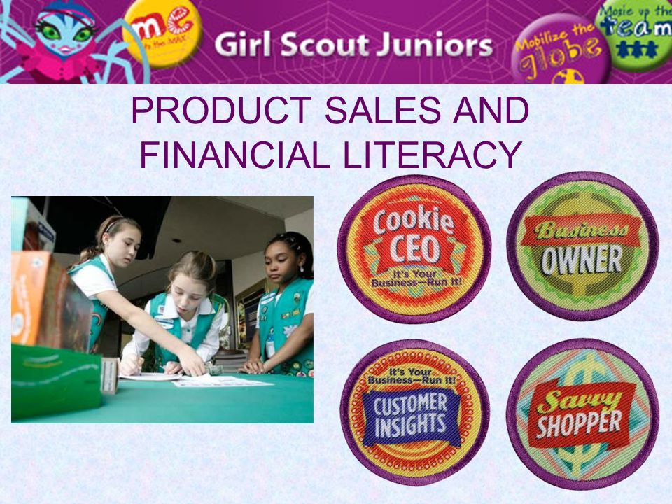 PRODUCT SALES AND FINANCIAL LITERACY