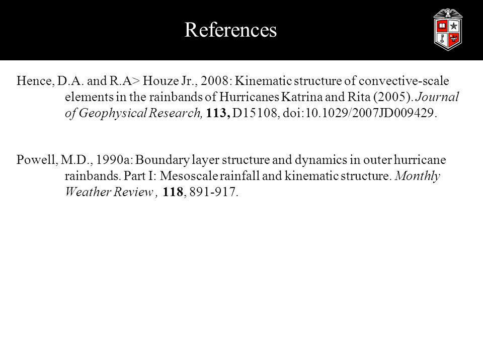 References Hence, D.A.