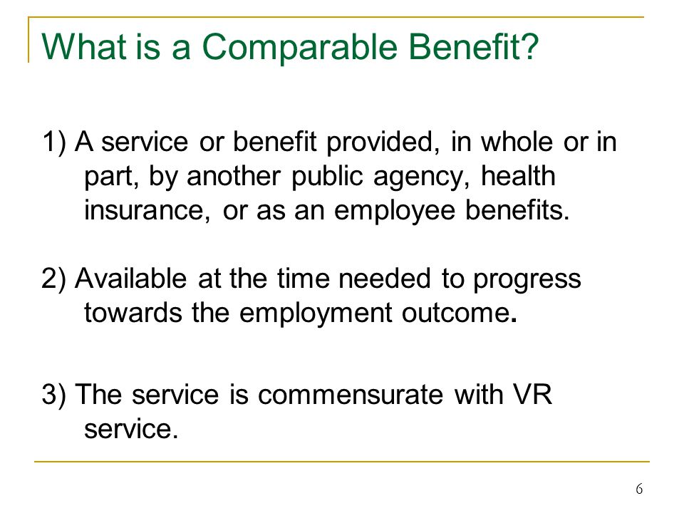 Cost of Services The State must establish policies for the rates of payment for VR services.