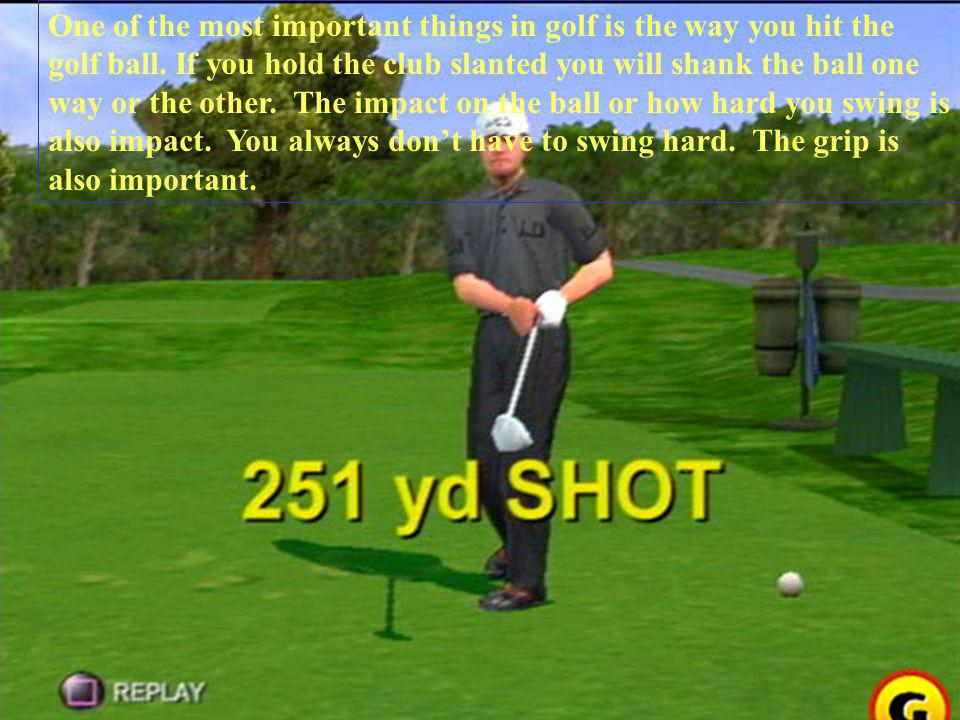 Ladies and Gentlemen, I'd like to present…. THE BACKSWING!!!.