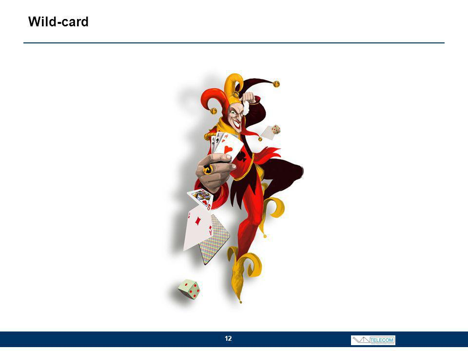 Wild-card 12