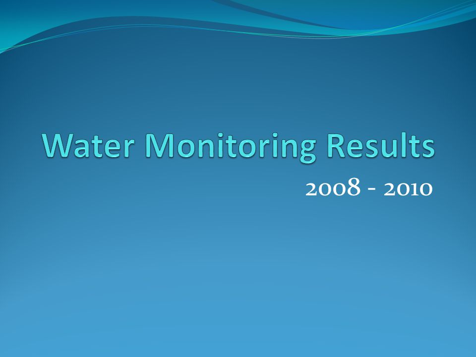Project Overview Lake Carmi has been participating in the Lay Monitoring Program since 1979, with 2 in-lake sampling sites Since 2008 the FWC started the monitoring program with 9 tributary monitoring sites, with sample processing done with the LaRosa Lab This 2010 season there are 17 tributary sites and 2 in- lake sampling sites Today we will be showing graphs for each monitoring, comparing data from all 3 years