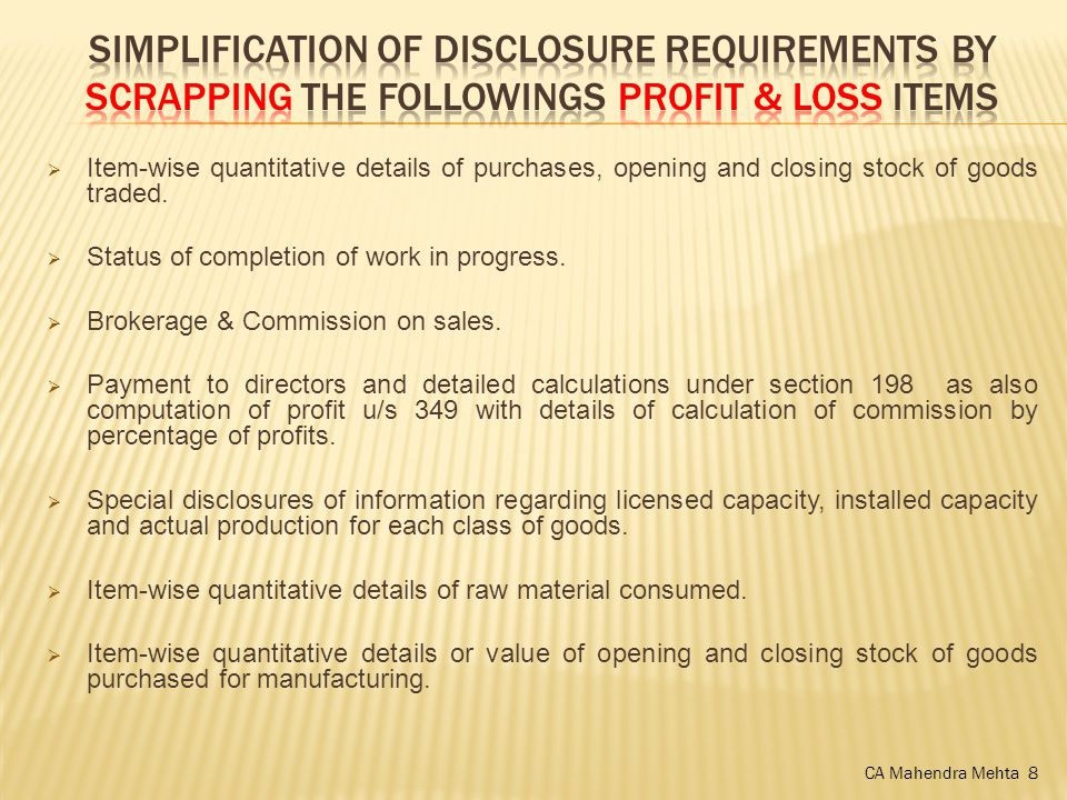  Item-wise quantitative details of purchases, opening and closing stock of goods traded.