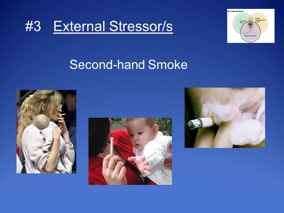 #3 External Stressor/s Second-hand Smoke