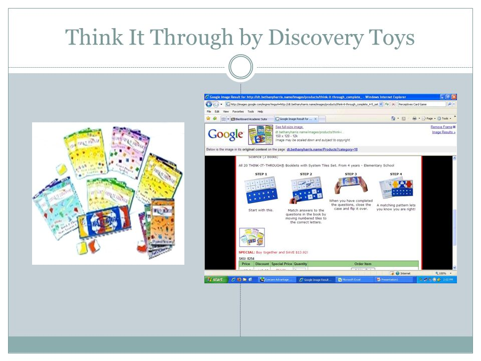 Think It Through by Discovery Toys