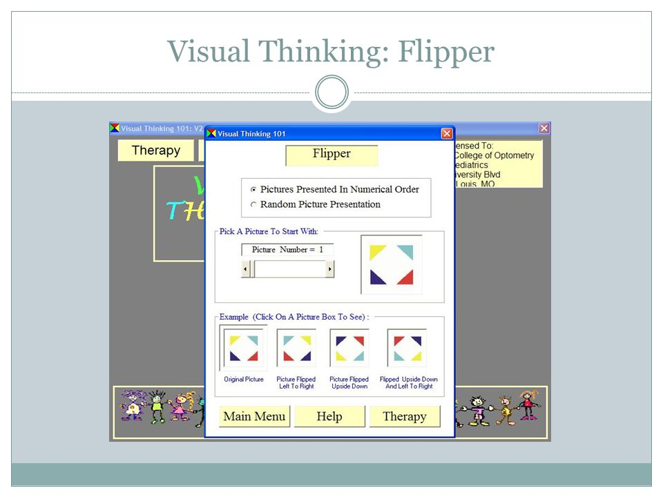 Visual Thinking: Flipper