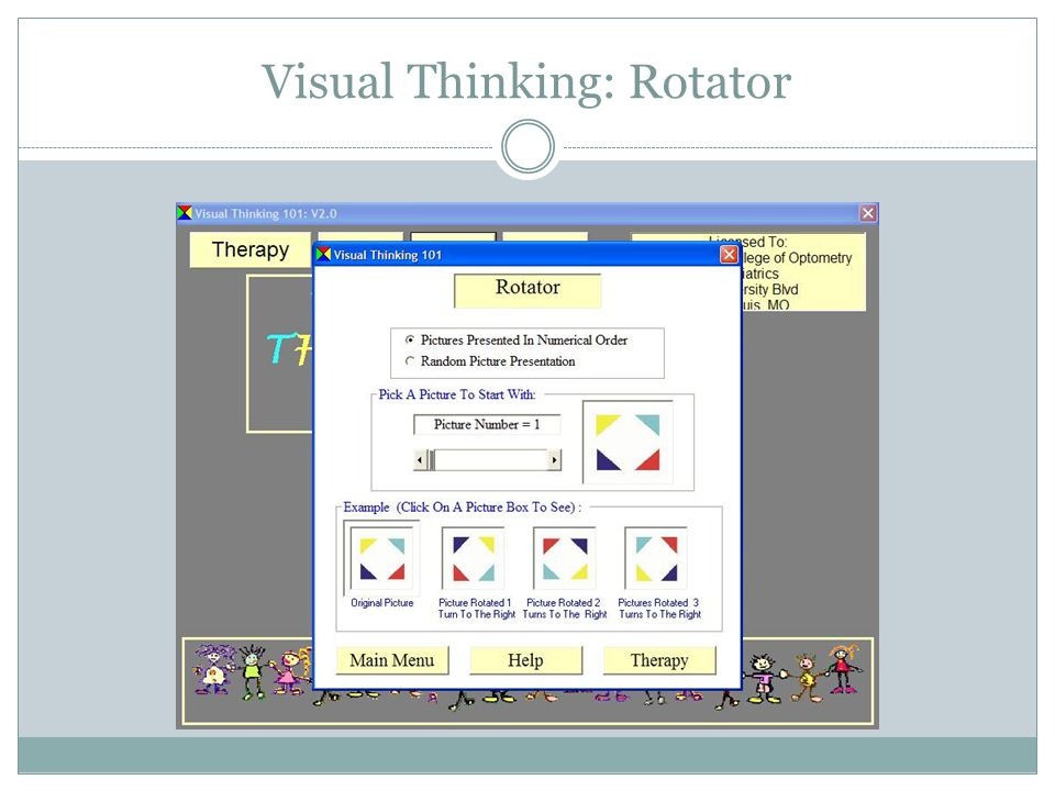 Visual Thinking: Rotator