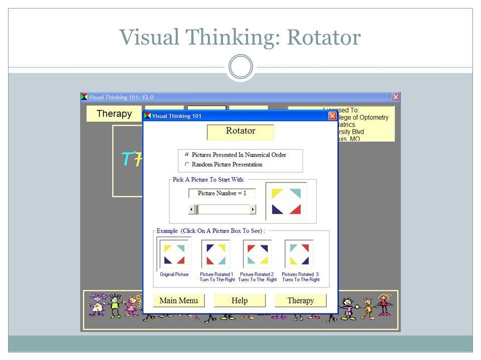 Visual Thinking: Parquetry Rotator