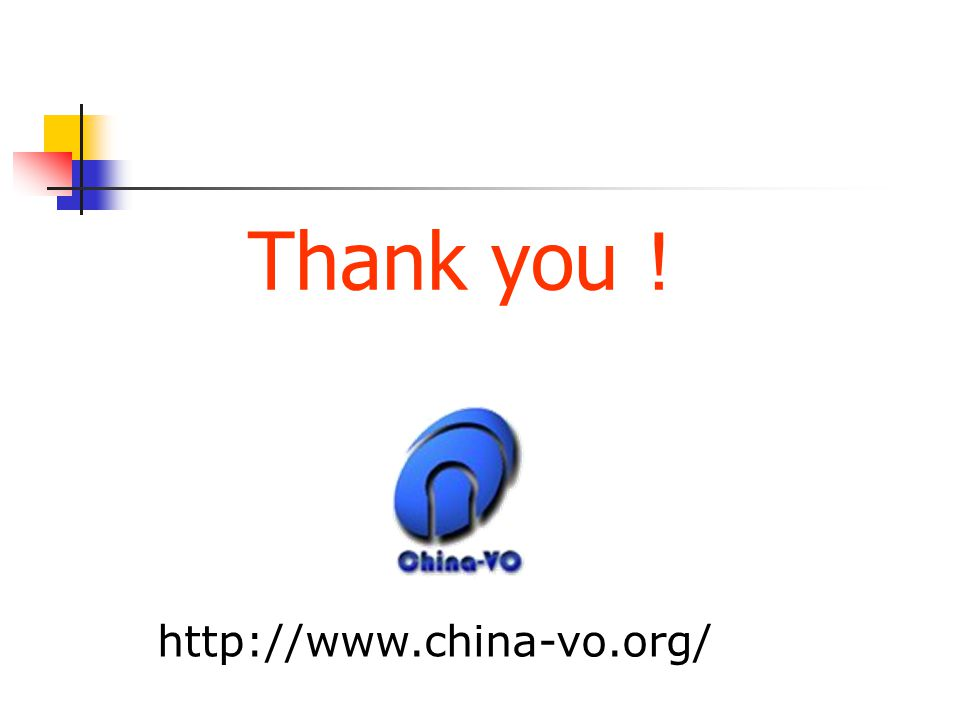 Thank you ! http://www.china-vo.org/