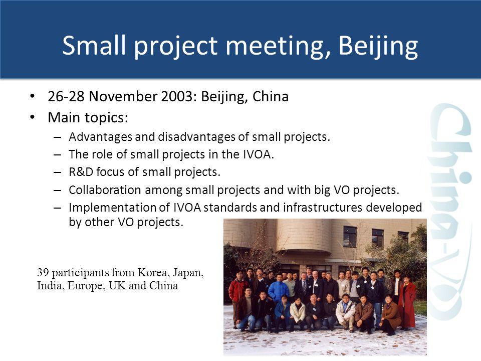 IVOA 2007, Beijing