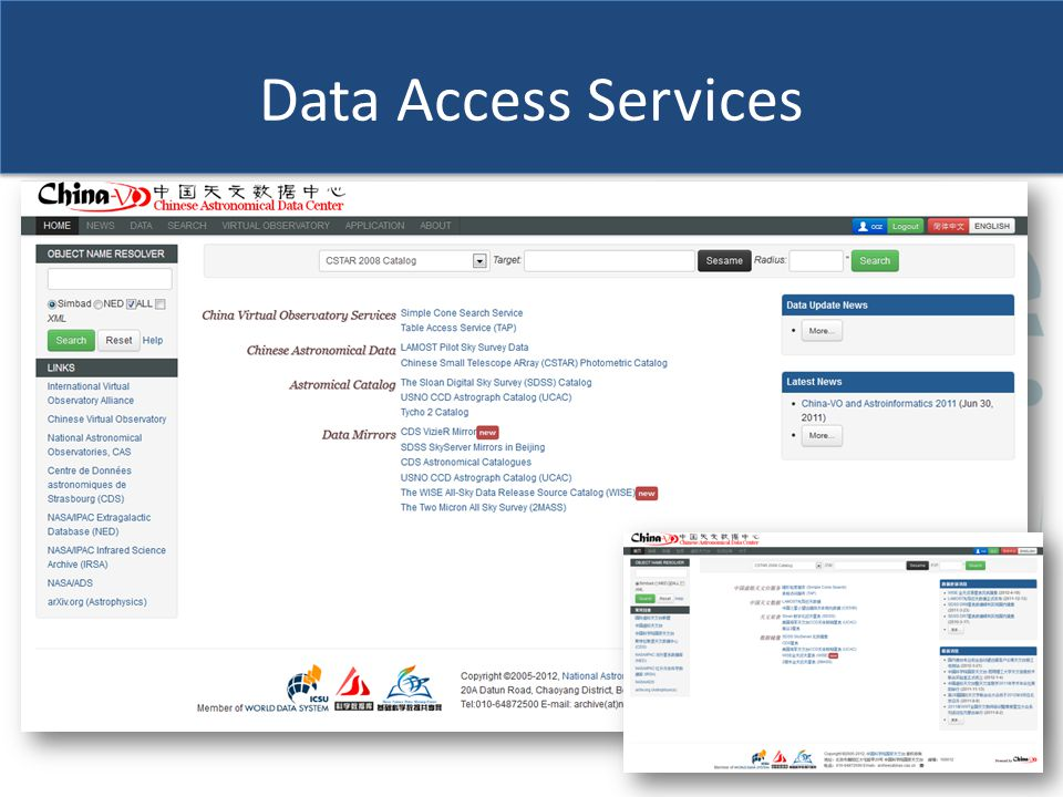 Data Access Services