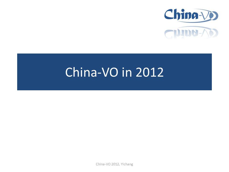 China-VO in 2012 China-VO 2012, Yichang