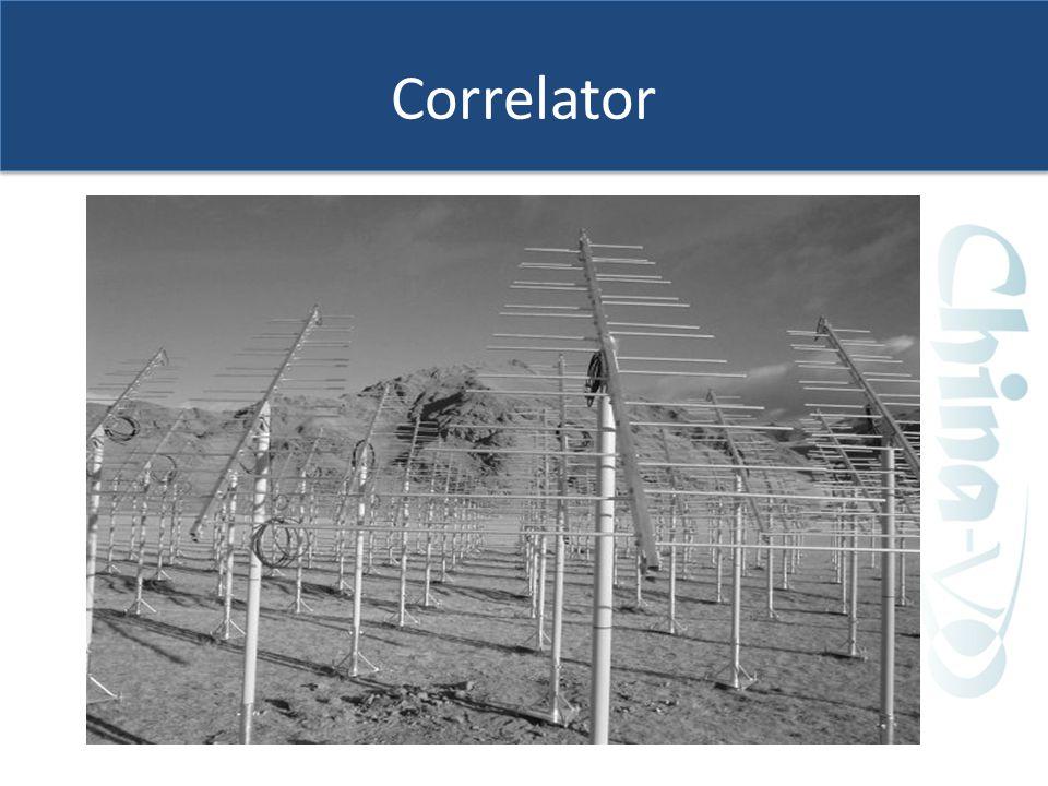 Correlator 1. 射电望远镜 2. 综合孔径成像