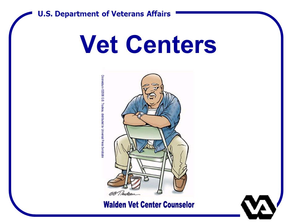 U.S. Department of Veterans Affairs Vet Centers