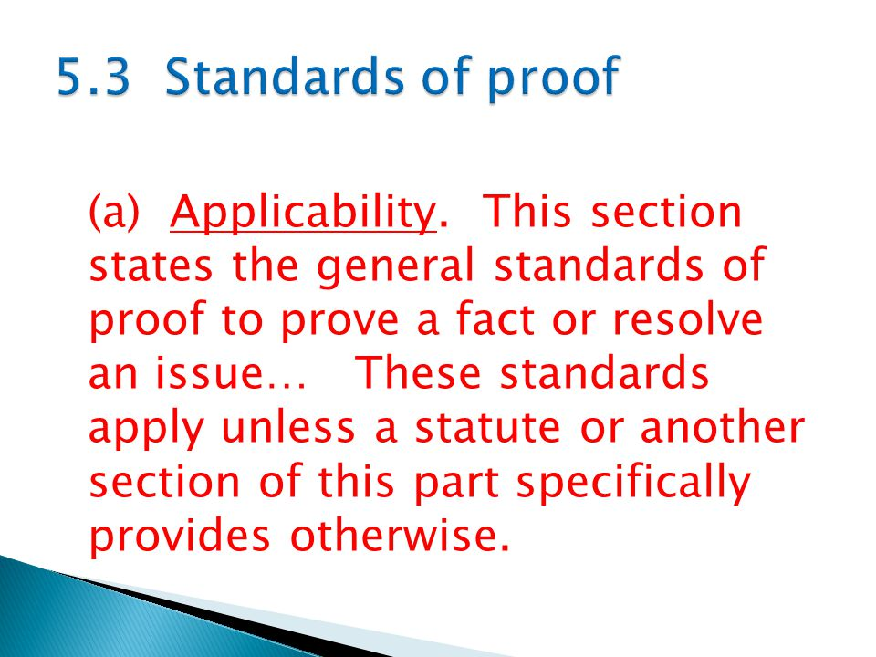 (a) Applicability.