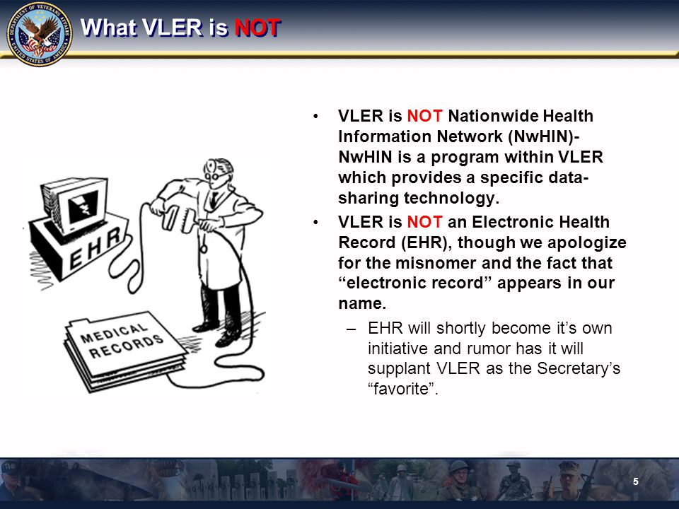 Who Will Use VLER.