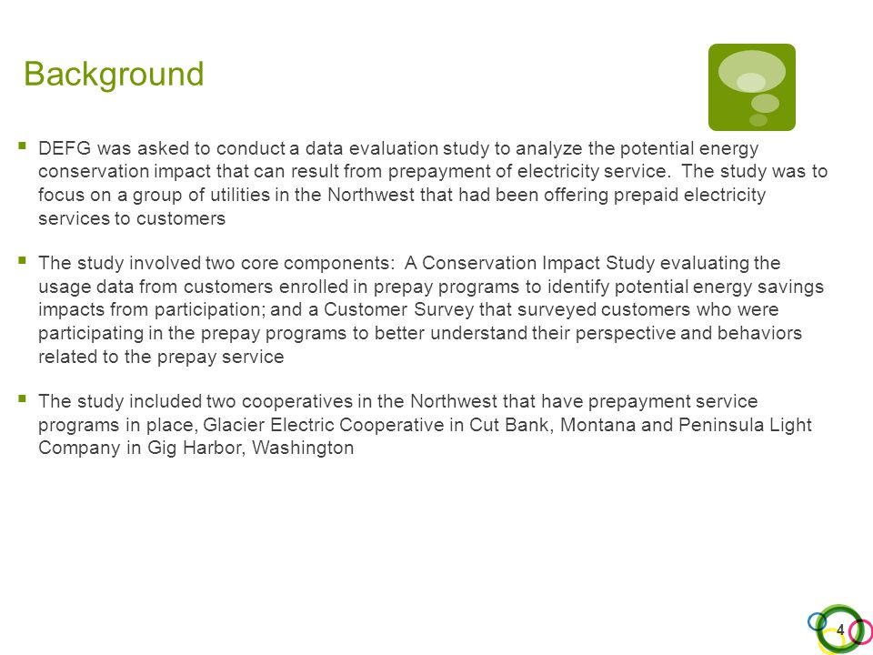Three-Out-of-Four Customers Say They Have Changed Usage Behavior Perception of Behavior Change With Prepay Service Q4.