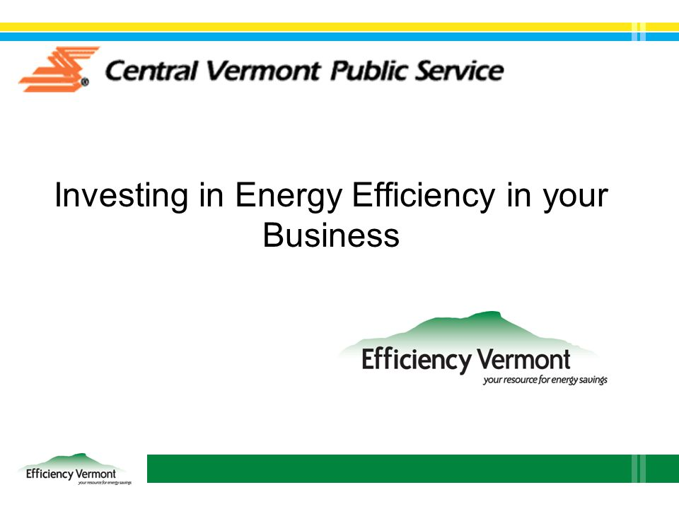 Investing in Energy Efficiency in your Business