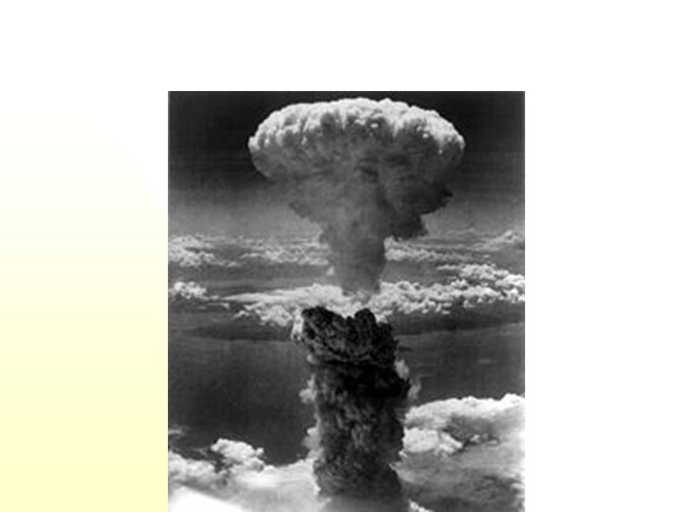 Hiroshima after atomic bombing.