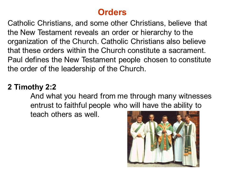 Clerical Celibacy The Catholic Church demands celibacy--no voluntary sexual pleasure, hence, no marriage--as a prerequisite to the order of presbyter and bishop.