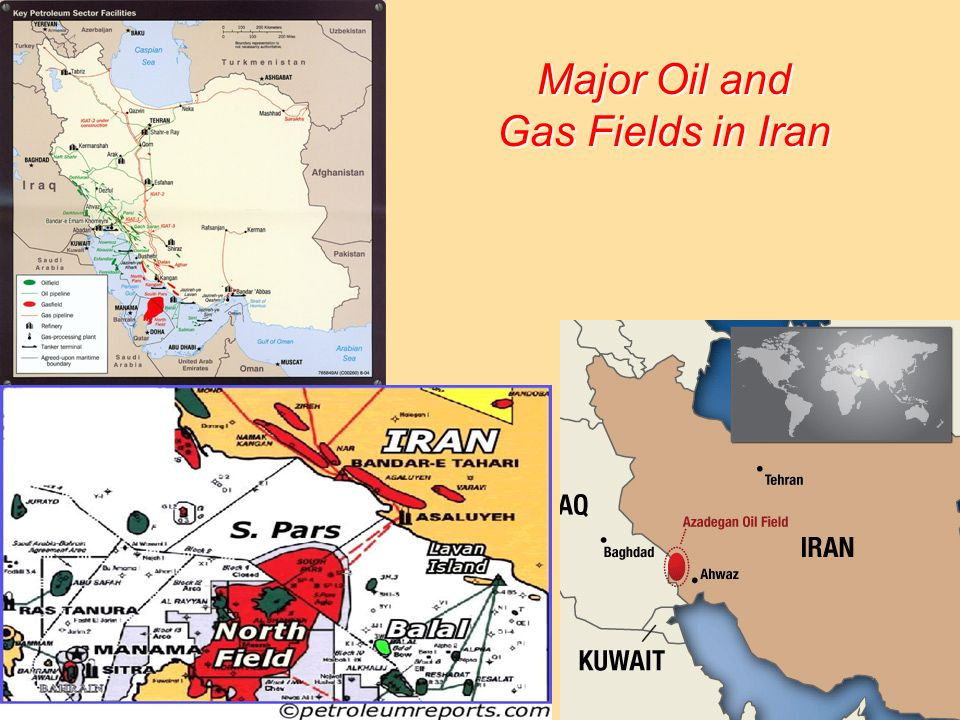 10/11/201413 Major Oil and Gas Fields in Iran