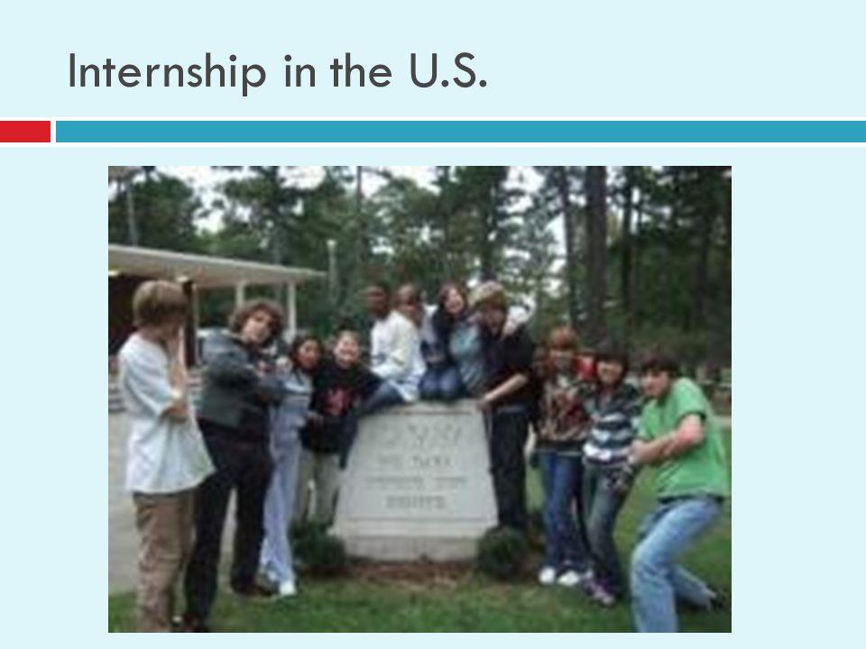 Internship in the U.S.