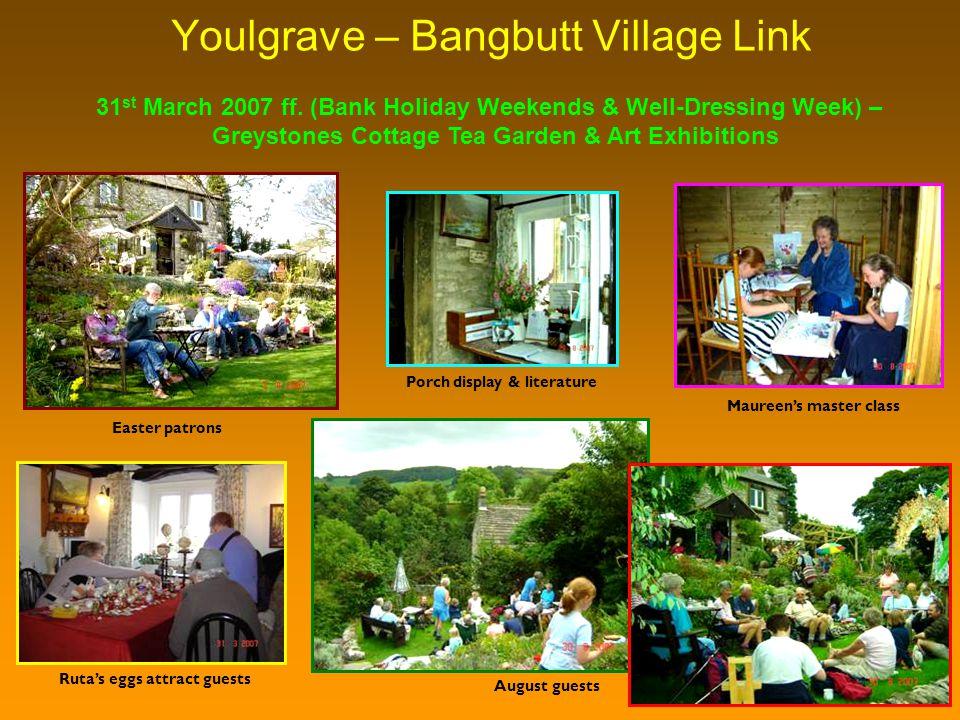 Youlgrave – Bangbutt Village Link 31 st March 2007 ff.