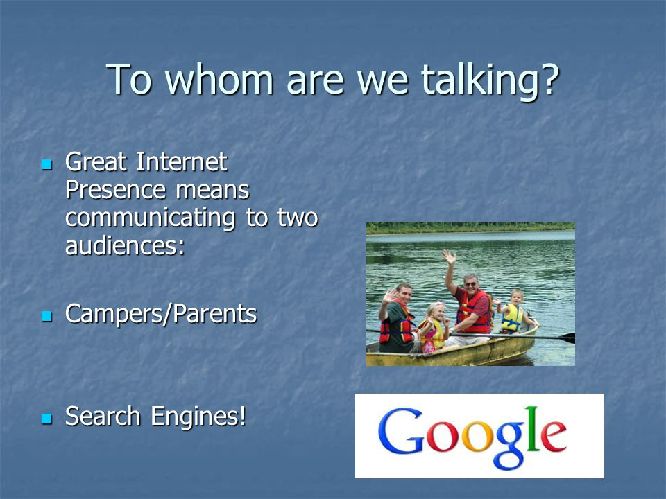 Search Engine Optimization Search Engine Empathy – What do they want.