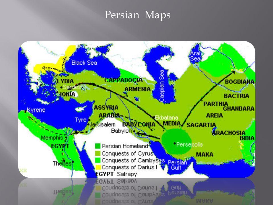 Persian Maps