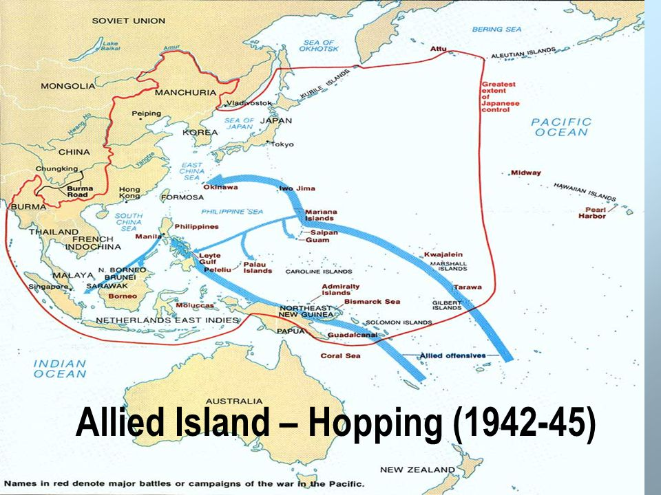 Allied Island – Hopping (1942-45)