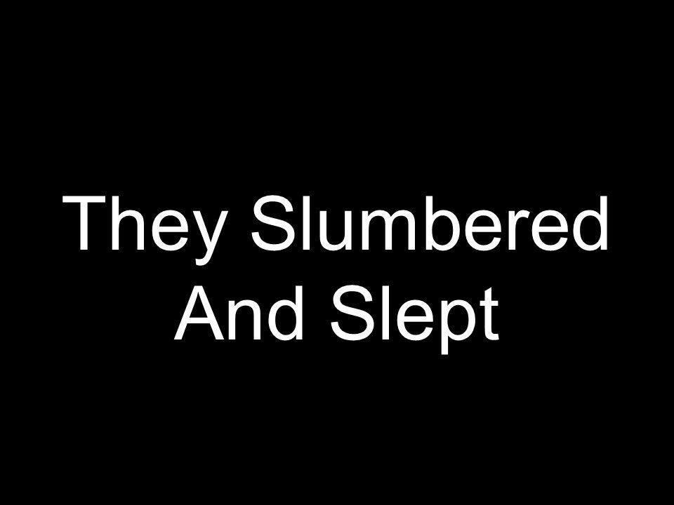 They Slumbered And Slept