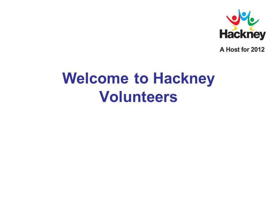 Welcome to Hackney Volunteers