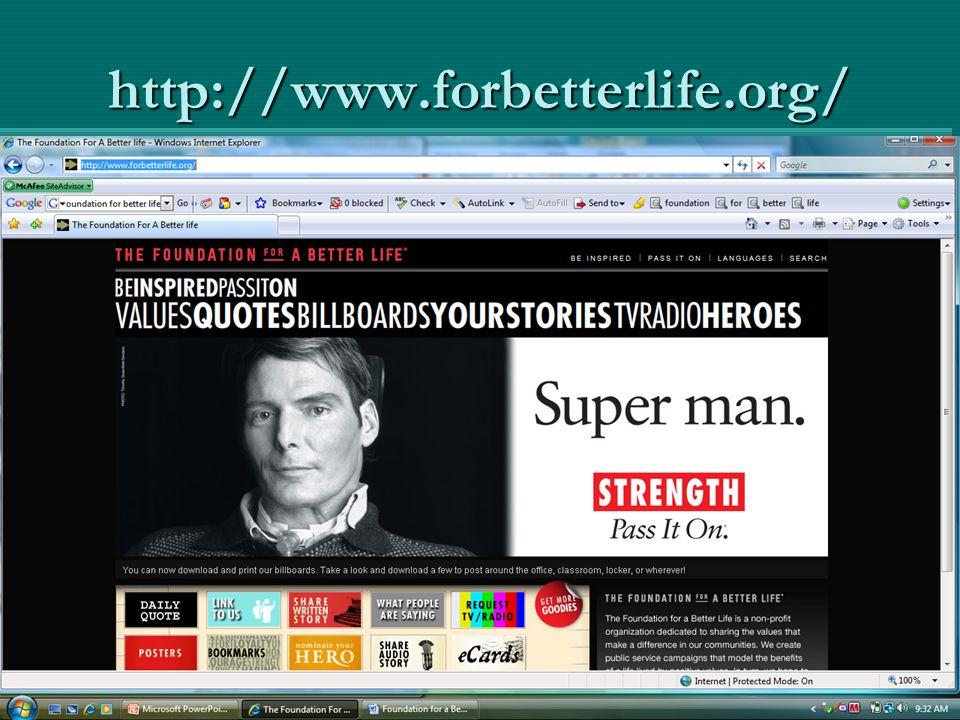 http://www.forbetterlife.org/