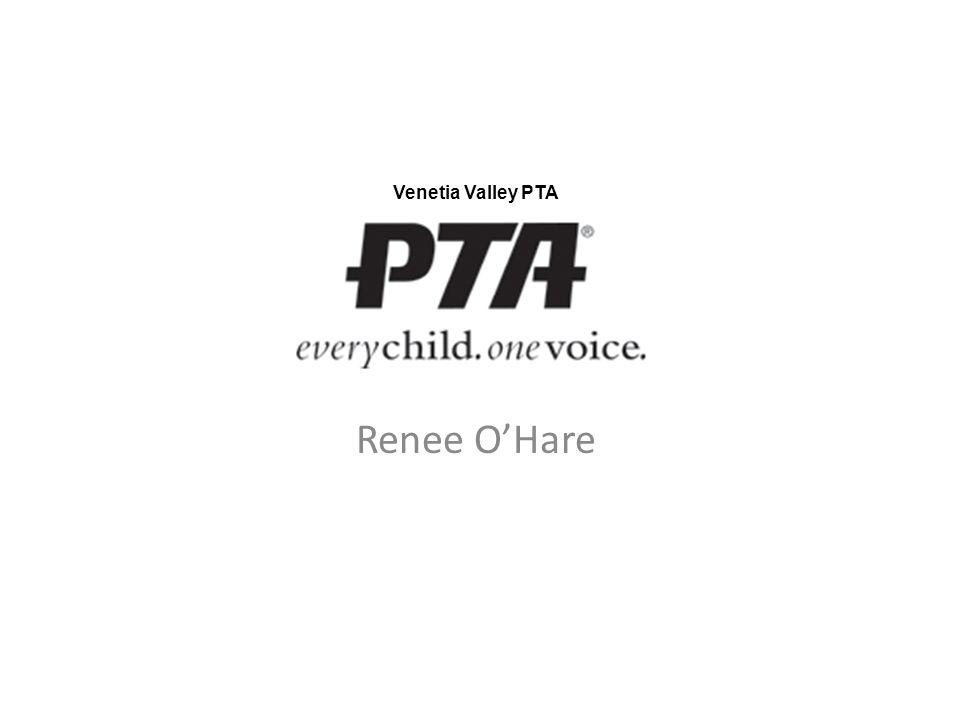 Renee O'Hare Venetia Valley PTA