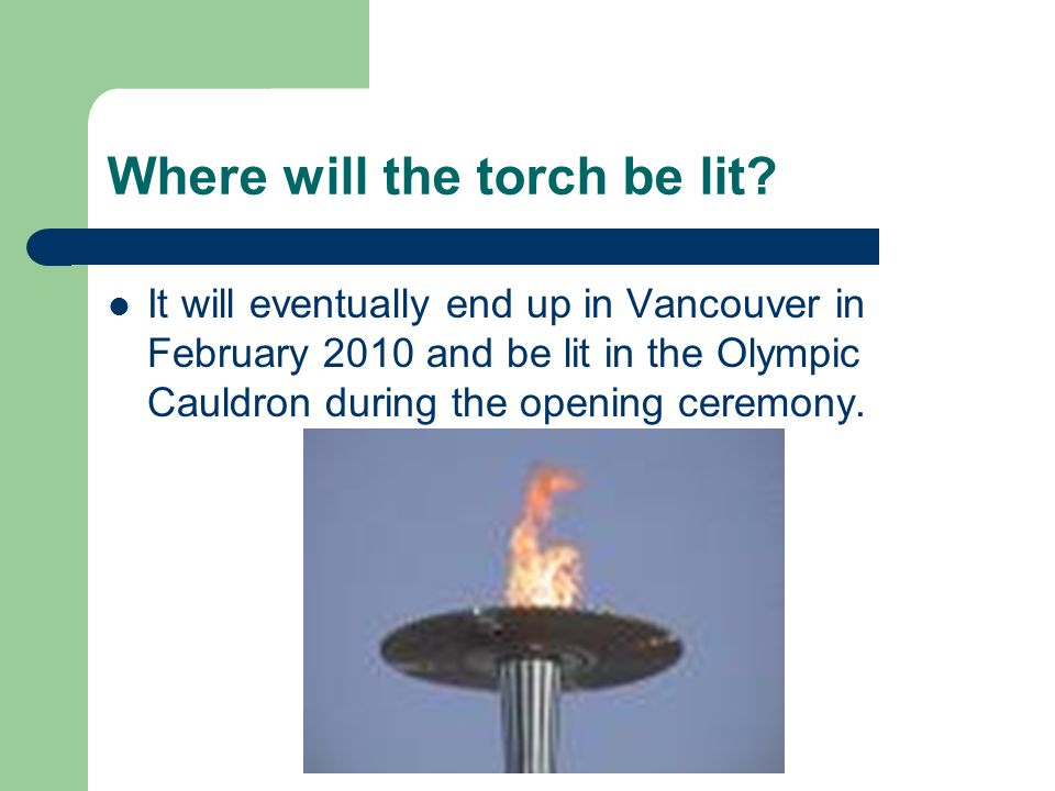 How far will the Olympic Torch travel.