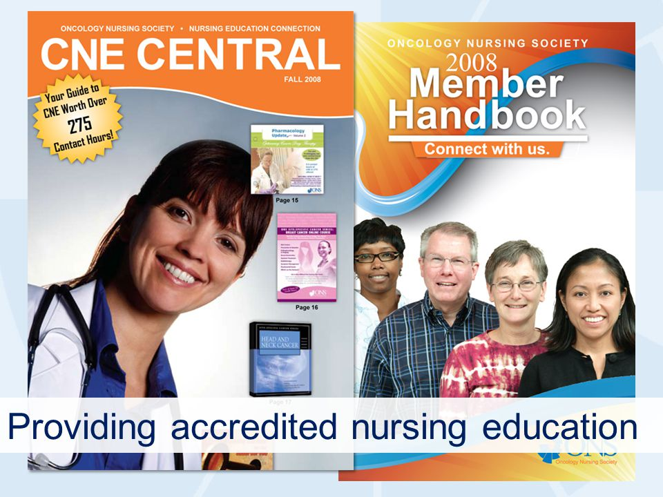 Providing accredited nursing education