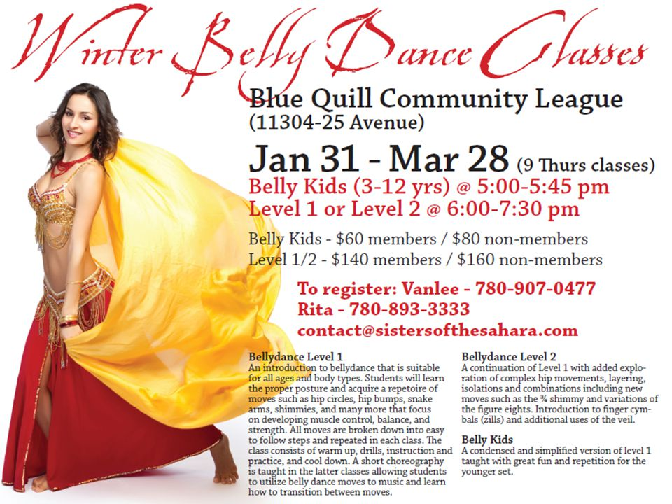 2012 BQCL AGM Year in Review – Bellydancing