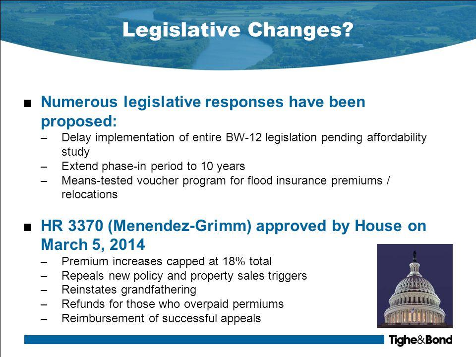 Legislative Changes.