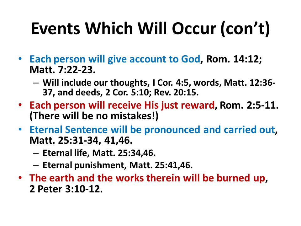 Why Has God Appointed a Day of Judgment.