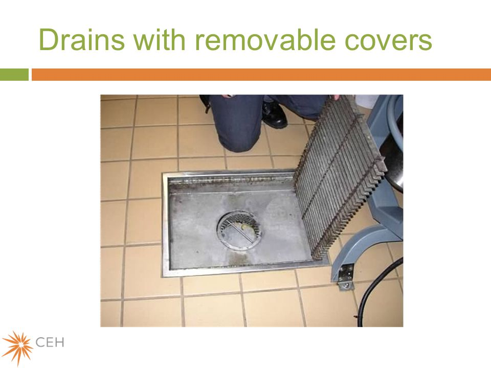 Drains with removable covers