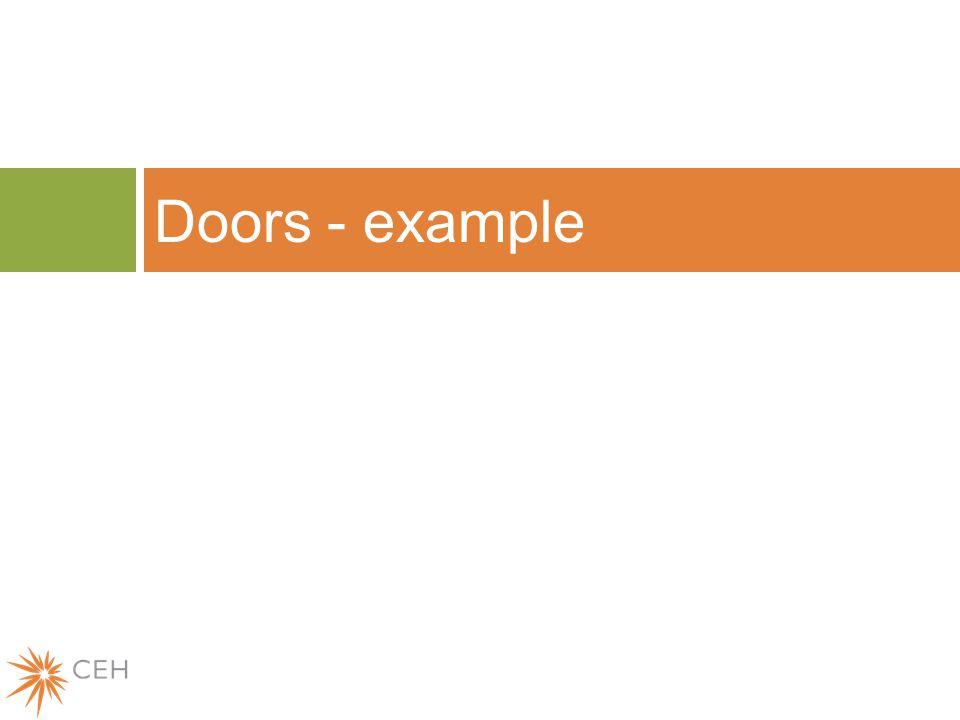 Doors - example