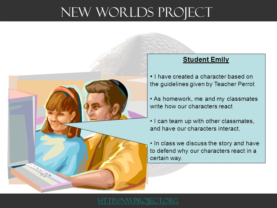 Teacher Perrot The story is designed to link directly to curriculum.