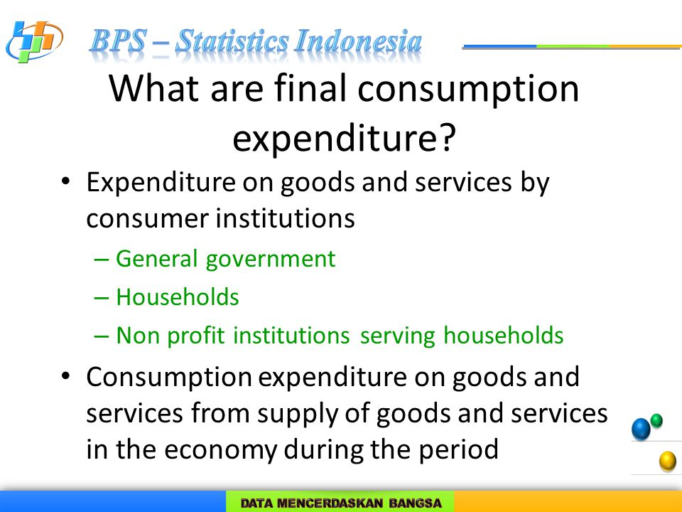 What are household actual final consumption.