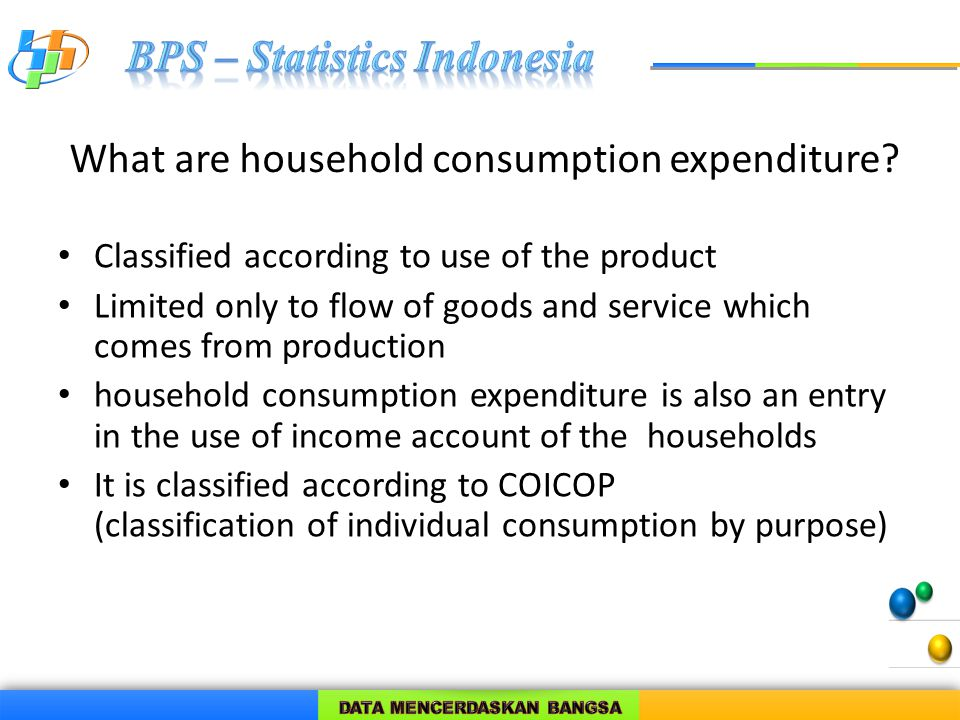 What is actual final consumption of household.